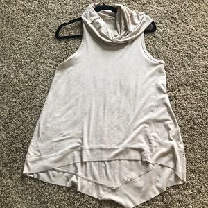 Cow neck tank top